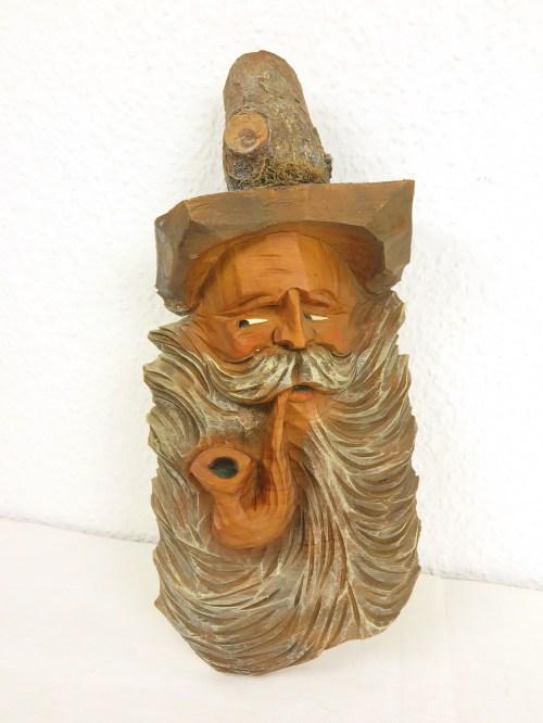 Bild 1 von 60er Holzfigur als Bild Almöl