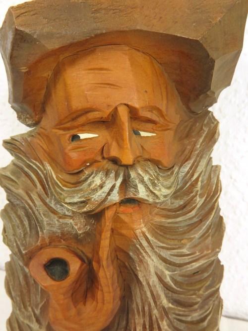 Bild 2 von 60er Holzfigur als Bild Almöl