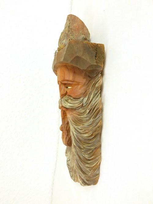 Bild 3 von 60er Holzfigur als Bild Almöl