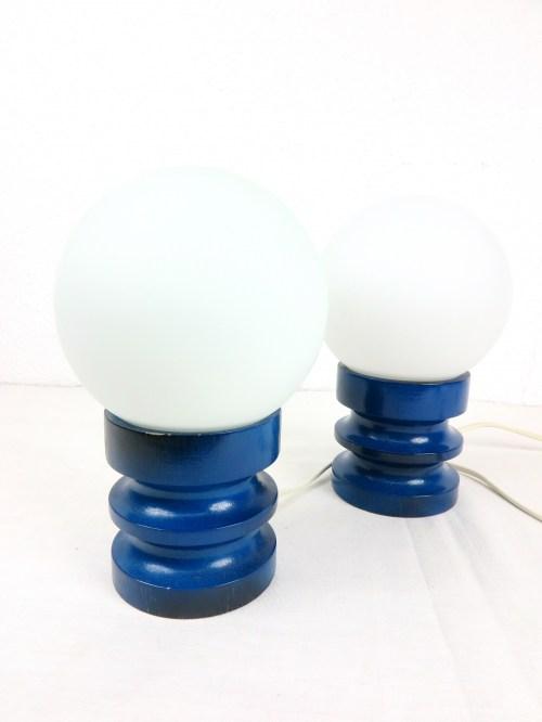 Bild 2 von 70er Nachttischlampen Paar