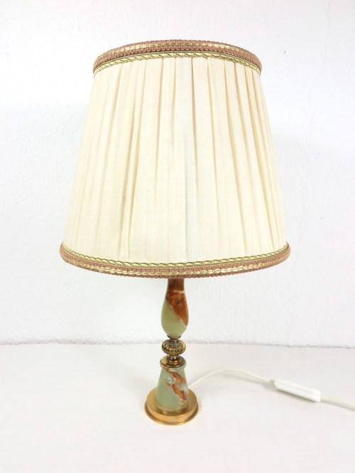 Bild 1 von 70er Tischlampe Alabaster
