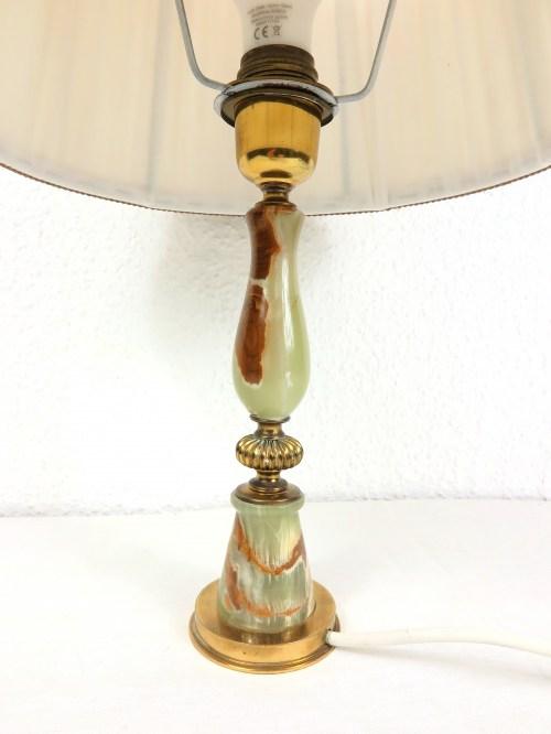 Bild 2 von 70er Tischlampe Alabaster