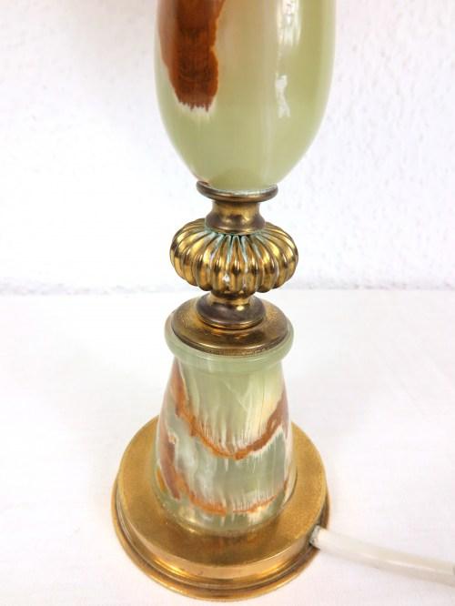 Bild 4 von 70er Tischlampe Alabaster