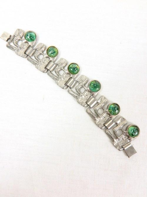 Bild 1 von 70er Armband mit Glassteinen