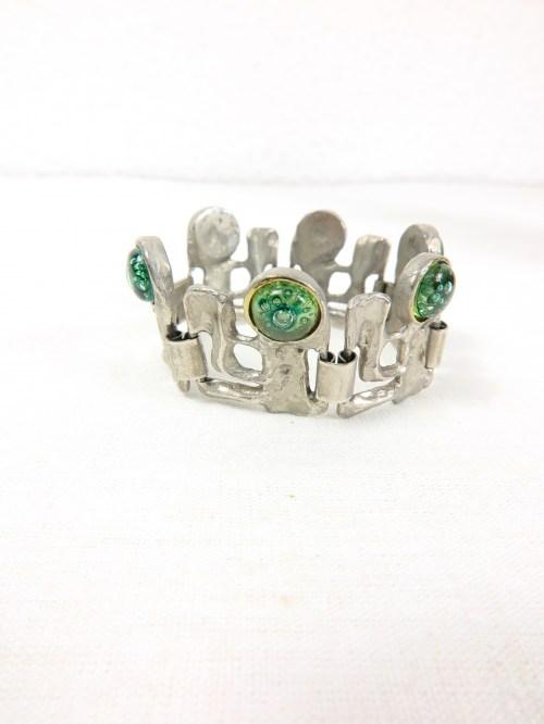 Bild 3 von 70er Armband mit Glassteinen