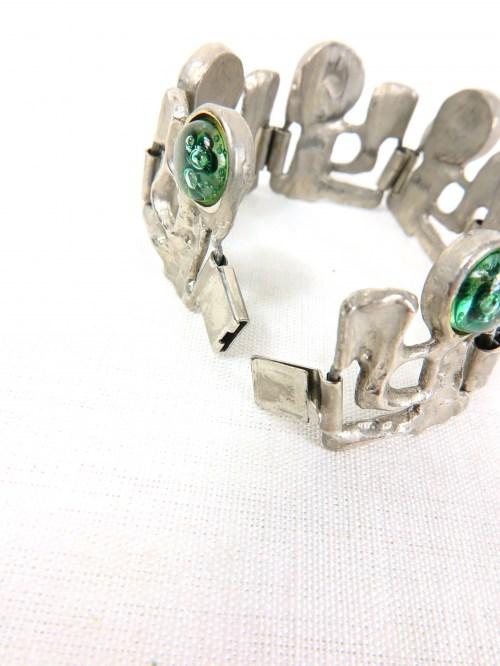 Bild 4 von 70er Armband mit Glassteinen