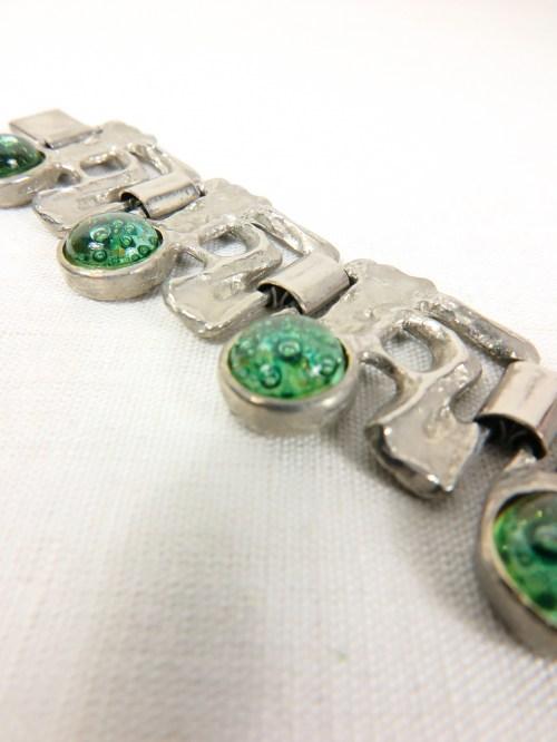 Bild 5 von 70er Armband mit Glassteinen