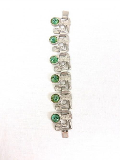 Bild 6 von 70er Armband mit Glassteinen