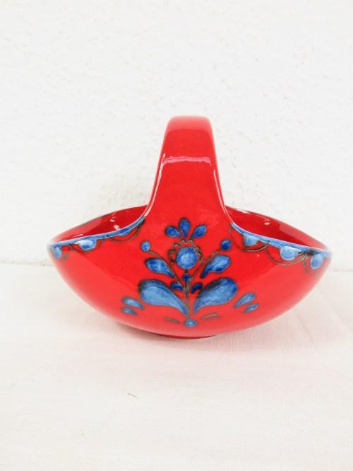 Bild 1 von 70er Konfekt Körbchen Keramik