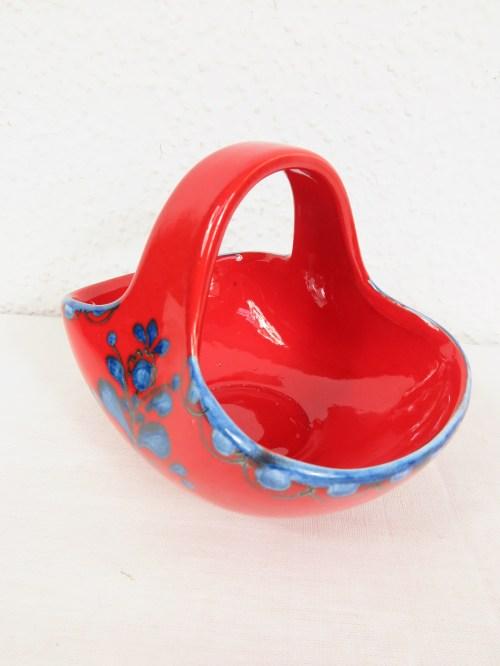 Bild 2 von 70er Konfekt Körbchen Keramik