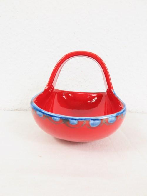 Bild 3 von 70er Konfekt Körbchen Keramik