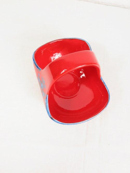 Bild 4 von 70er Konfekt Körbchen Keramik
