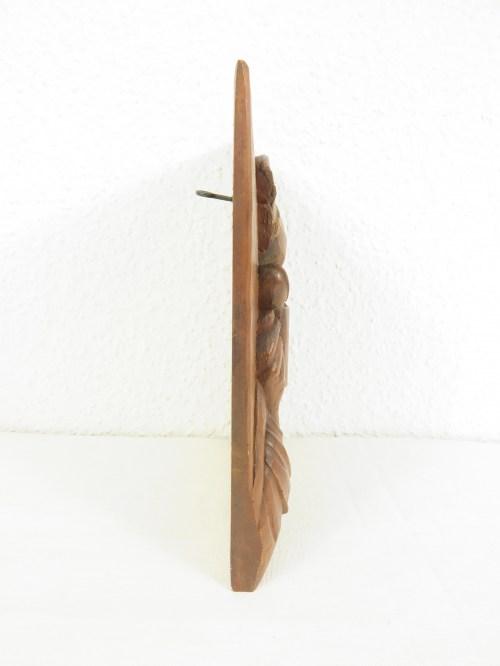 Bild 4 von 70er Holzbild Biertrinker Edelhoz