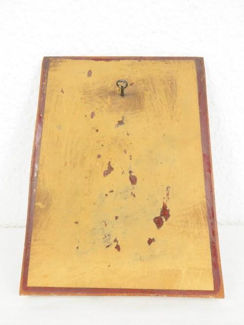 Bild 6 von 70er Holzbild Biertrinker Edelhoz