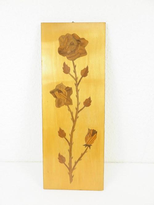 Bild 1 von 50er Holzbild Intarsien