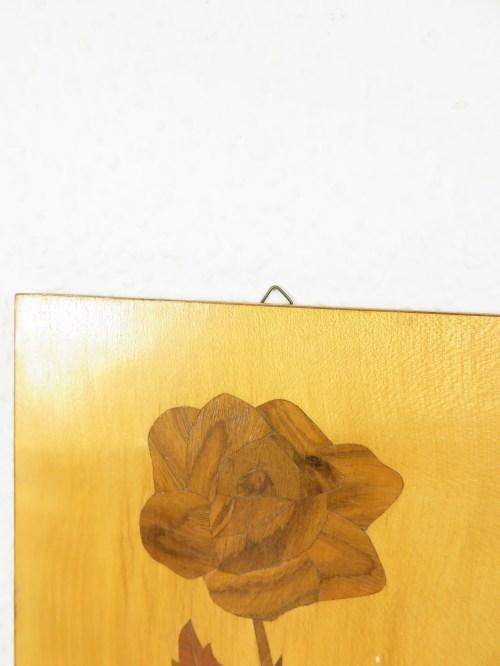 Bild 3 von 50er Holzbild Intarsien