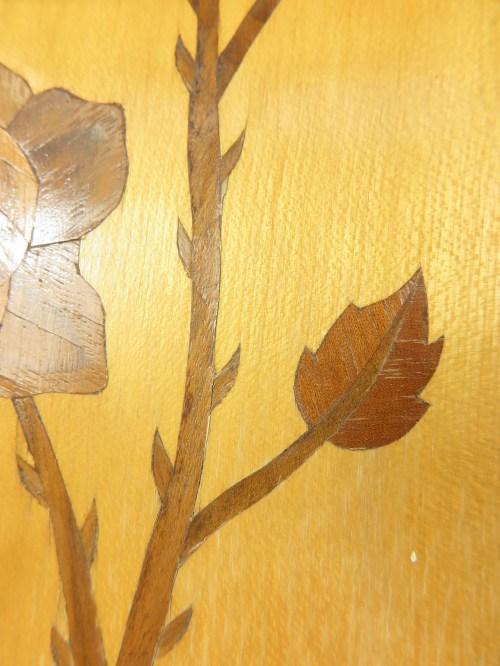 Bild 4 von 50er Holzbild Intarsien