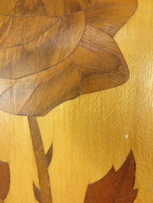 Bild 5 von 50er Holzbild Intarsien