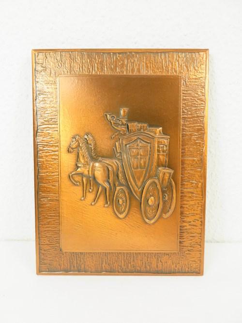 Bild 1 von 60er Kupferbild Handgearbeitet