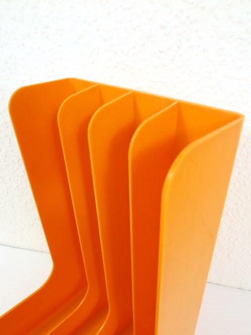 Bild 5 von 70er Plattenständer Orange
