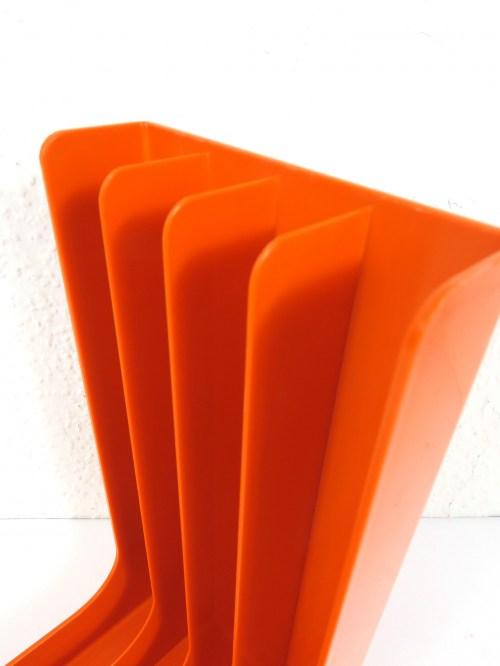 Bild 4 von 70er Plattenständer Orange Gustavberg