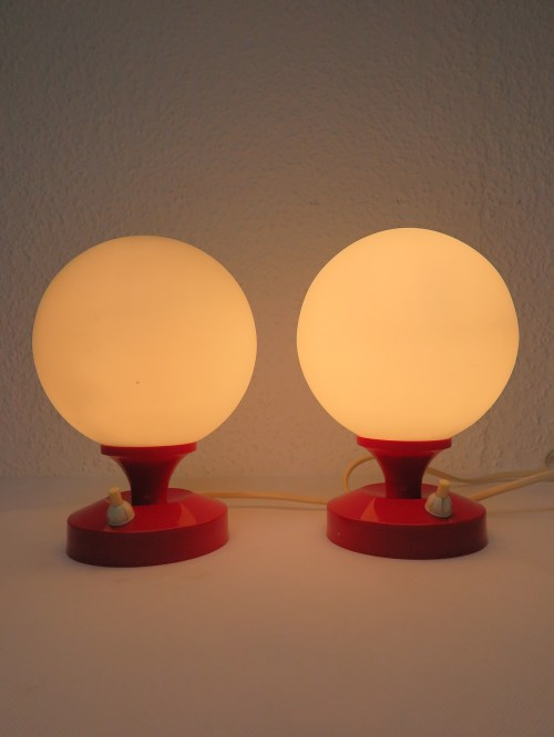 Bild 5 von 70er Nachttischlampen