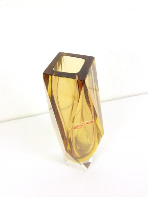 Bild 3 von 60er Murano Vase mit Original Ettikett