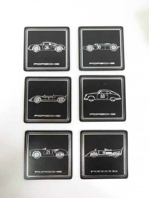 Bild 1 von 70er Porsche Gläseruntersetzer