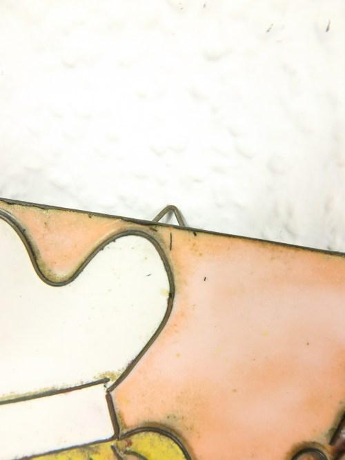 Bild 3 von 70er Emaille Bild Köchin