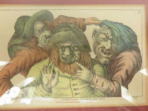 Bild 4 von Alte Radierung Zahnarzt