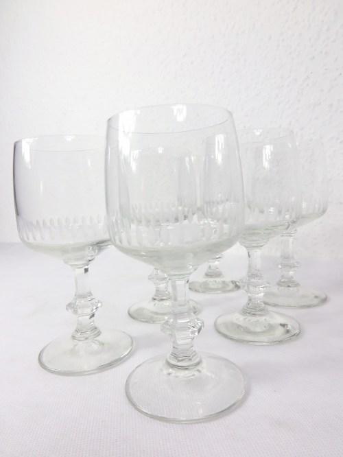 Bild 1 von 70er Weingläser Set mit 5 Stück