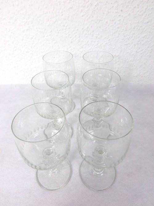 Bild 2 von 70er Weingläser Set mit 5 Stück