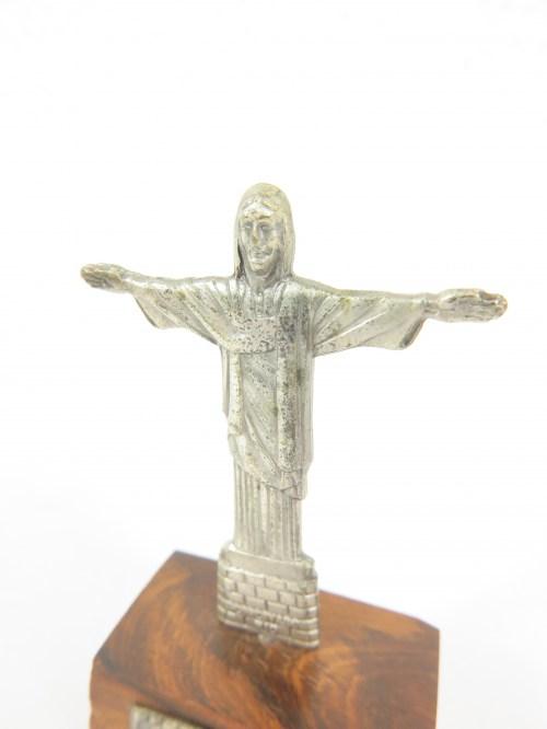 Bild 5 von 70er Jesusfigur auf Edelholzsockel
