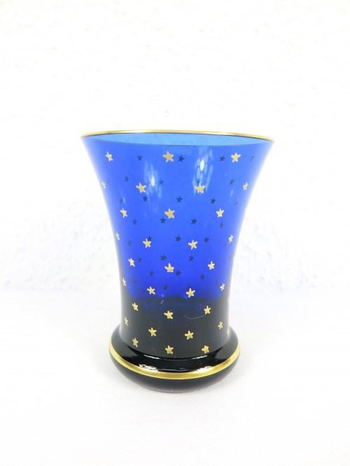 Bild 1 von 70er Glasvase blau