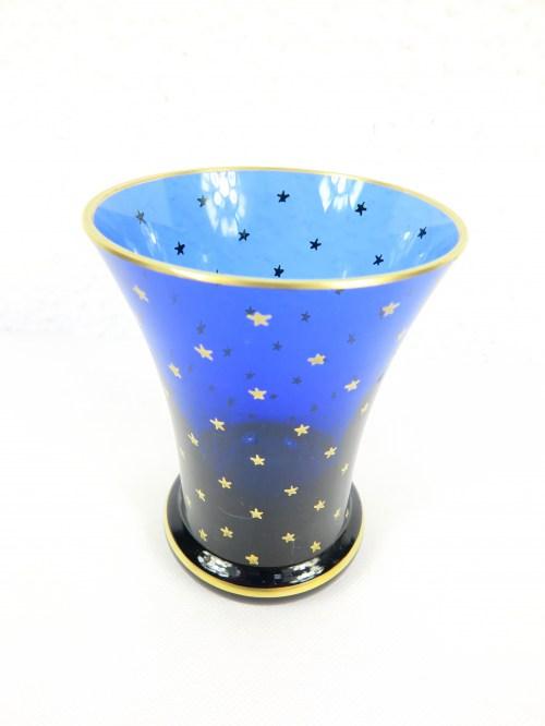 Bild 2 von 70er Glasvase blau