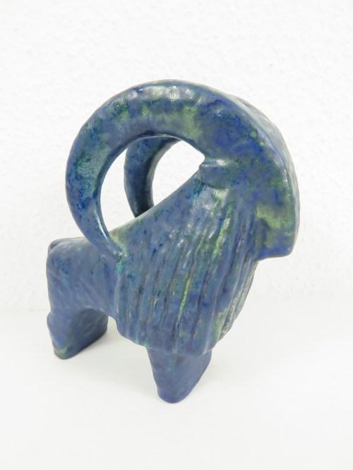 Bild 2 von 70er Keramik Widder