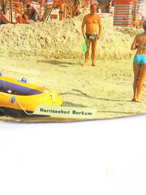 Bild 2 von 70er Holzbild Borkum