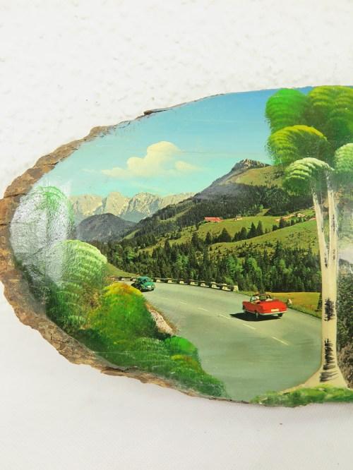 Bild 2 von 60er Holzbild 100 Jahre Tatzelwurm, Bayern