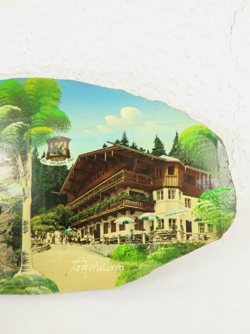 Bild 4 von 60er Holzbild 100 Jahre Tatzelwurm, Bayern
