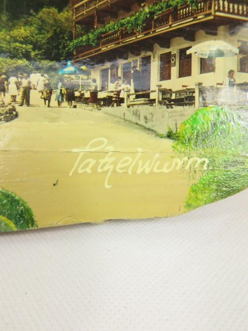 Bild 5 von 60er Holzbild 100 Jahre Tatzelwurm, Bayern