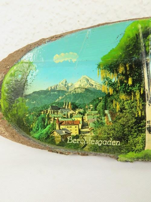 Bild 2 von 50er Holzbild St. Bartholomä, Berchestesgaden, Königssee