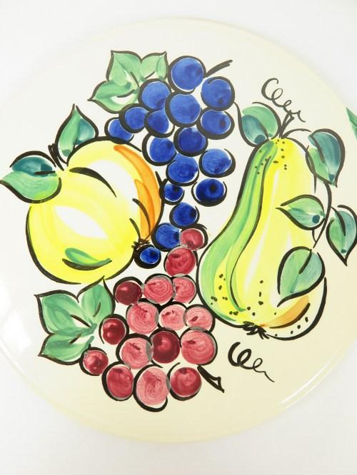 Bild 2 von 70er Kuchenplatte, Handgemahlt
