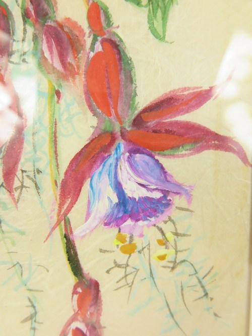 Bild 2 von 50er Bild Fuchsie auf echtem Seidenpapier