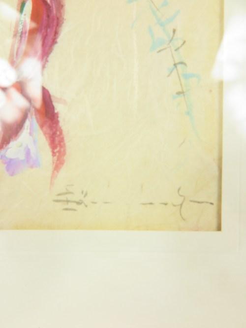 Bild 3 von 50er Bild Fuchsie auf echtem Seidenpapier