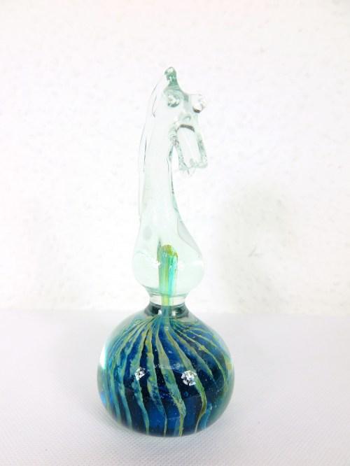Bild 1 von  Murano Glas Schachfigur Springer