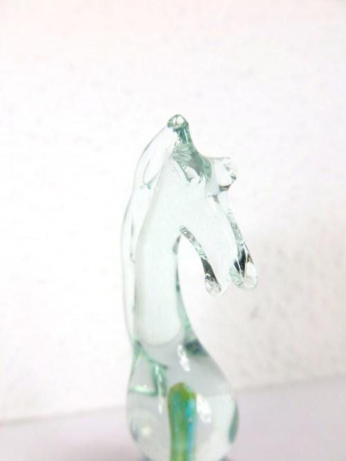 Bild 3 von  Murano Glas Schachfigur Springer