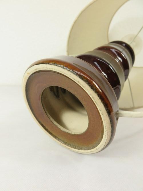 Bild 4 von 70er Tischlampe Wildseidenschirm