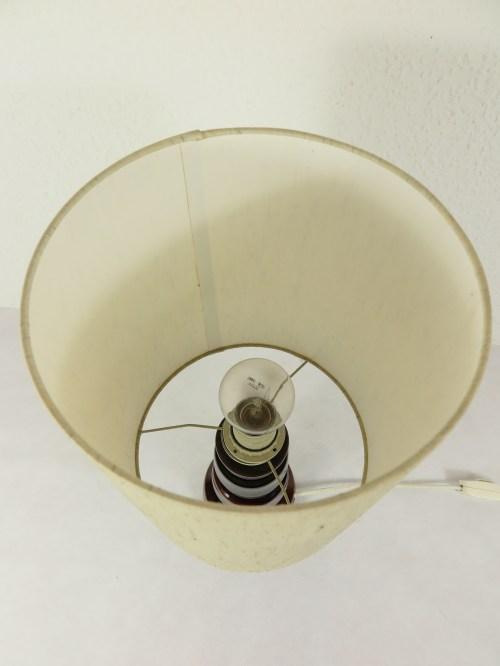 Bild 6 von 70er Tischlampe Wildseidenschirm