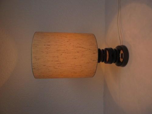 Bild 7 von 70er Tischlampe Wildseidenschirm
