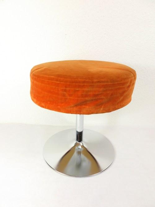 Bild 1 von 70er Hocker Orange